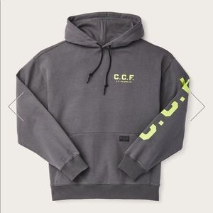 CCF graphic pullover hoodie